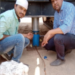 Conducted plate load test proposed bridge (NH-752)at Phulambri, Aurangabad .