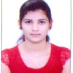 Miss Payal Kasar ( B.E E & TC SIEM ), Pass out year 2018