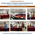 Formation association of civil engineering students 2019-20
